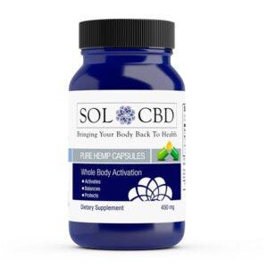 Sol CBD CBD CAPSULES 450mg