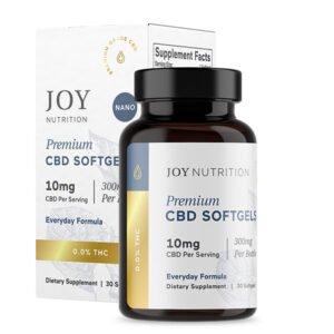 Joy Organic CBD Softgels 300mg