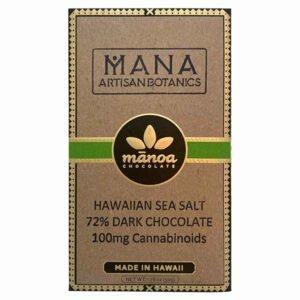 Mana Artisan Botanics Hemp CBD Dark Chocolate Bar