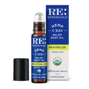 Re: Botanicals Ginger Lime Relief Body Oil 200MG