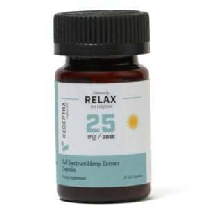 Receptra Seriously Relax Gel Capsules 25mg
