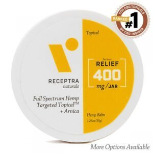 Receptra Serious Relief + Arnica Targeted Topical 400mg