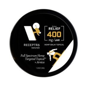 Receptra Serious Relief + Arnica Targeted Topical - 400mg