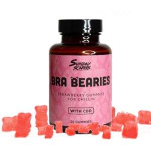 Sunday Scaries Strawberry CBD Gummies 200mg