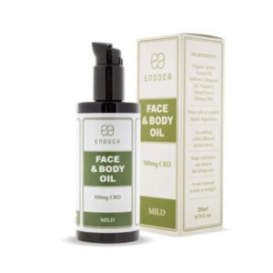 Endoca CBD Face And Body Oil