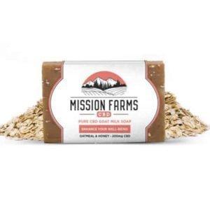 Mission Farms CBD Pure Goat Milk Soap