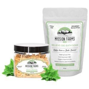 Mission Farms CBD Relieve CBD Bath Soak